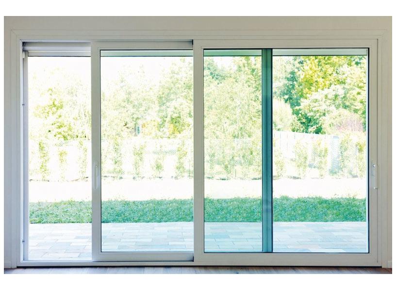 Finestre e porte scorrevoli serramenti bergamo - Porta finestra scorrevole esterna ...