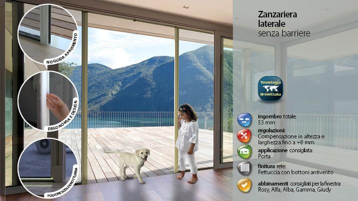 Zanzariere motorizzate fisse per porte finestre - Amazon zanzariere per finestre ...